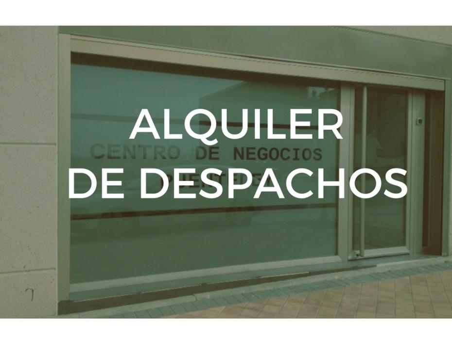 ALQUILER DESPACHOS
